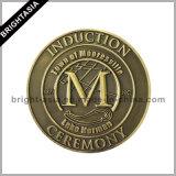 高品質の記念品(BYH-101195)のためのカスタム3D金属の硬貨