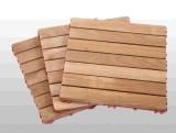 Mattonelle di legno esterne di Decking del teck della Birmania della prova della termite & dell'acqua - 300X300mm