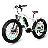48 В 1000W жира на пляже с электроприводом шин на велосипеде с подвеской вилочного захвата
