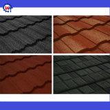 石造りの上塗を施してある屋根瓦を着色しなさい