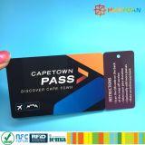 Custom MIFARE Classic EV1 1K adesão RFID Cartão de visitas