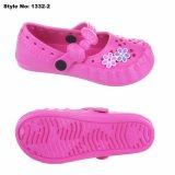 Новые поступления прелестные девушки засорению дышащий сад сандалии EVA обувь
