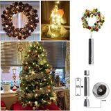 Света бутылки вина с пробочкой, светом рождества и током низкого напряжения батареи для венчания партии украшения дома рождества