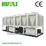 Qualitäts-doppelter Schrauben-Kompressor-industrielle Luft, zum des Luft abgekühlten Wasser-Kühlers zu wässern