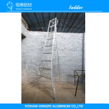 Aluminum Ladder Aluminum Extrusion Metal Alloy Ladder Profiles