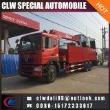 8-12 톤 이동할 수 있는 트럭에 의하여 거치되는 기중기, 6*4 다기능 트럭 기중기, 중국에서 사다리를 가진 트럭 기중기