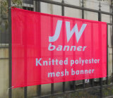 Outdoor Full Color Printing Mesh Banner Banner Polyester