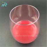 glace de cannelure en plastique de 16oz 450ml Tritan, le volume remplaçable en verre de vin