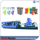 Pequeña máquina plástica automática llena del moldeo a presión de los productos del hogar
