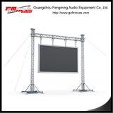 10mx8mのサイズの目的のポストのトラス、LEDスクリーンのトラス立場