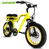 Двойные сиденья снег Ebike жир шины для велосипедов с электроприводом леди
