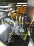 Compressor de Ar Portátil de Alta Pressão do Mergulho do Mergulhador da Gasolina 300bar para Respirar