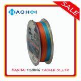 8X/8 Farbe Mehrfarben-PET Fischerei-Zeile Fischerei-Gerät der Webart-10 des Meter-einer