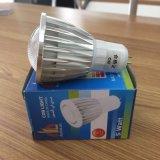 Prix d'usine 5 W blanc chaud LED spotlight ampoule de LED Gu5.3