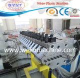 Interior de la piedra decorativa de plástico de PVC de piedra de la línea de producción de hoja de mármol
