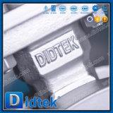 Valvola a farfalla dell'acciaio inossidabile di alta qualità di Didtek con Chainwheels