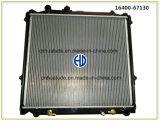 Radiateur automatique en plastique en aluminium bon marché de véhicule de vente chaude pour Kzn
