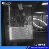 광고를 위한 P10/10mm 매우 높은 정의 유리제 LED 스크린