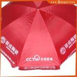 Pubblicità del parasole di Sun della spiaggia di promozione dell'ombrello di spiaggia che fa pubblicità all'ombrello promozionale