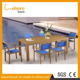 Jardim Polywood Lazer cadeira e mesa de jantar ao ar livre mobiliário moderno