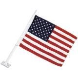 미국 차 깃발 100%년 폴리에스테 차 창 깃발 (YH-CF010)