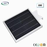 2018 económicas tipo 8W LED integrado Jardín de Luz Solar