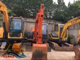 使用された小型日立坑夫Zx60日立のクローラー掘削機