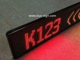 De Enige Kleur die van de hoogste Kwaliteit het Teken van de LEIDENE Bus van de Vertoning scrollen