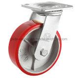 Heavy Duty Roulette polyuréthane noyau de fer (Y4209/ Y4210)