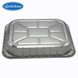 Embrossedの適用範囲が広いアルミホイルの処分の台所使用の容器