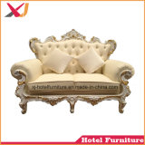 Sofà reale di legno dell'oro per la cerimonia nuziale/ristorante/hotel/domestico/banchetto