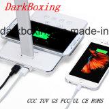 Lampada senza fili della Tabella di studio LED del caricatore del telefono senza stroboscopio