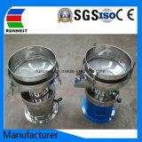 Filtro de pantalla de vibración líquido de la ronda de la máquina para la leche (RA450)