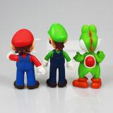 Figura di plastica sveglia giocattoli del fumetto dell'OEM con l'alta qualità