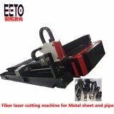 Fabricante profesional de la hoja de metal y el tubo de fibra Láser Máquina de corte