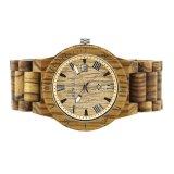 Eco friendly mejor la naturaleza de alta calidad relojes de madera para hombres