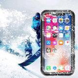 iPhone Xのための2017完全なカバー衝撃または土または雪の証拠スクリーン電話箱