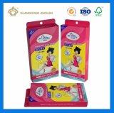 El papel de la tarjeta de plata caja de embalaje de cosmética cosméticos de lujo