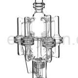 Rokende Waterpijp van het Glas van de Recycleermachine van Perc van de band de Veelvoudige Filtrerende voor Wholeale (S-GB-210)