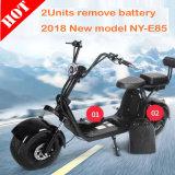 2018 Мощные зеленый электрический скутер с 01- 60V 2000Вт Бесщеточный двигатель для взрослых