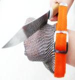 耐久財によって切られる抵抗力があるステンレス鋼の網の手袋