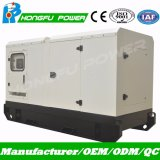 Puissance nominale générateur de 75kw/94kVA silencieux/insonorisé/écran avec le moteur diesel de Weichai