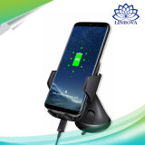 cargador de coche rápido Qi Wireless Transmitter parabrisas soporte para teléfono para el iPhone 8 x Samsung