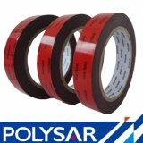 Espuma de polietileno negro de diferente grosor cinta para la automoción y Panel acrílico