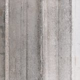 Materiales de construcción de losas de piedra fósil del piso del jardín mosaico de bandas de color gris