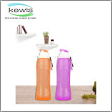 500ml LFGB plegable Aproved Gym Fitness Botella de agua de silicona