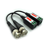 Conectores video profesionales del Balun del CCTV de la seguridad del Wdm