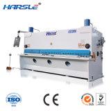 CNC, der hydraulische quadrierende scherende Maschine schneidet