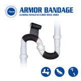 Rubans adhésifs de réparation de fibre de verre pour tuyaux Réparation de la preuve de l'eau