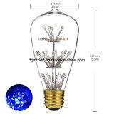 ST64 UL 승인 무료 샘플을%s 가진 다채로운 에너지 절약 LED 램프 전구